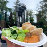 Review!! Celebrate Galaxy's Edge with Two Suns Hummus in Hollywood Studios!