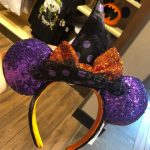 New! We're Bewitched by These Halloween Minnie Ears in Disney World
