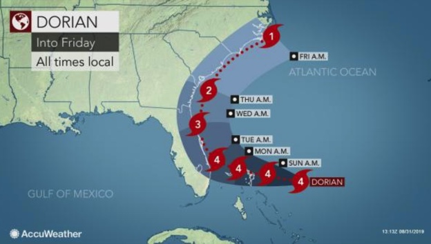 Four Major Hurricanes Predicted As Part Of 'Above Normal' Season
