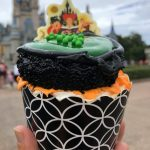 Photos and REVIEW! This Hocus Pocus Cupcake Casts a Spooky Spell in Disney World!