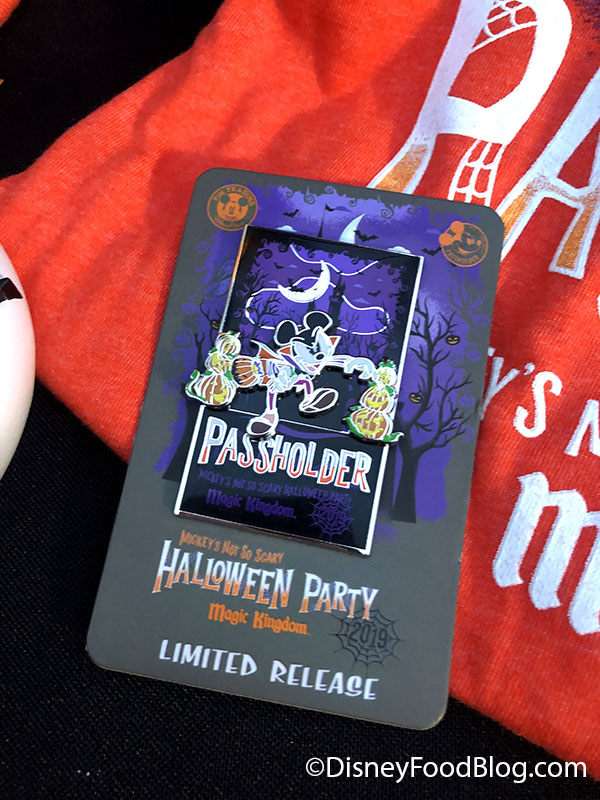 2019 MNSSHP Halloween Party Oogie Boogie Pin Limited Edition