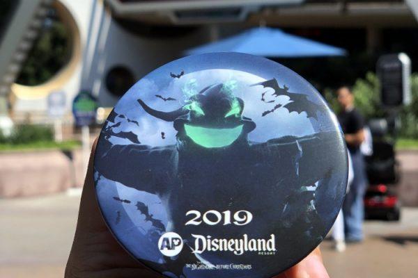 NEW Oogie Boogie Annual Passholder Button Lurking at Disneyland Resort!