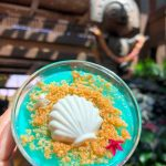 Review! NEW Arendelle Aqua Lemon Blueberry Cheesecake at Disney's Polynesian Resort