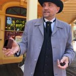 Disneyland's NEW Magician Magically Appears in Frontierland!