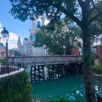 The Water is BACK! Magic Kingdom's Cinderella Castle Moat Returns to its Former Glory!