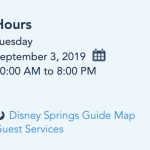 BREAKING — Disney World Extends Epcot and Disney Springs Hours for Tuesday, September 3rd