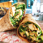 We Hope You're Hungry 'Cause There's A NEW Smoked Chicken Wrap in Disney World!