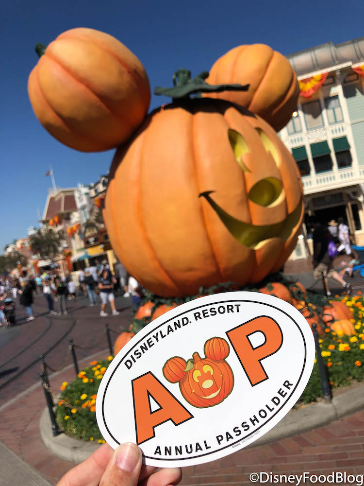 2020 Annual Passholder Halloween Pin Ooh, We're Really Scared! NEW Halloween Annual Passholder Mag