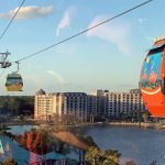 DFB Video: Ride the Disney World Skyliner With Us!