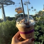 Review! Toffee Flight Latte Soars into Joffrey's NEW Caribbean Beach Skyliner Station Location