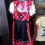 ACHTUNG! This German Minnie Mouse Dress we Spotted in Epcot is Dangerously Cute!