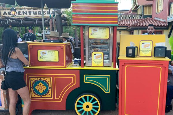 Magic Kingdom's Egg Roll Wagon Moves to a NEW Location!