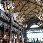 What's New at Animal Kingdom Lodge — Vegetarian Wraps, Construction, and Halloween Merch!