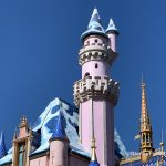 FIRST LOOK: Sleeping Beauty Castle At Disneyland Gets First Snow Fall!
