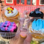 Review! We're Getting Chills From the Frozen 2 Mini Spirit Cupcakes in Disney World!