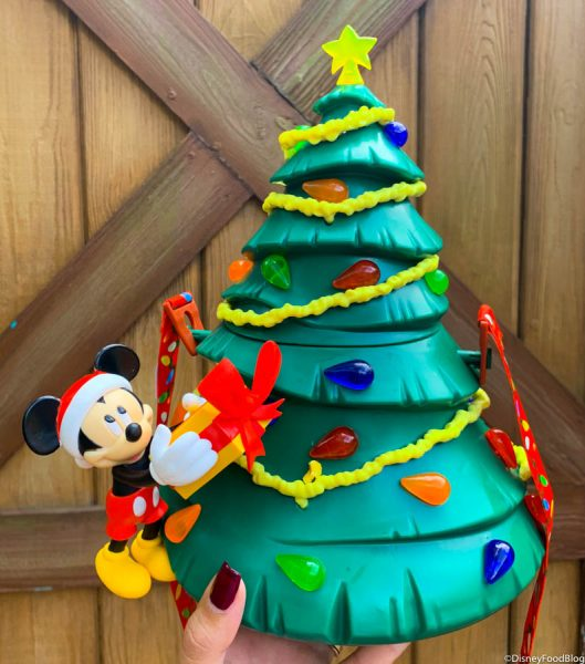 Mickey's Light-Up Tree Popcorn Bucket