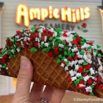 Joy to the World! This Ice Cream Taco in Disney World Got a Holiday Makeover!