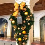 Check Out the Stunning Holiday Decor at Disney World's Newest Hotel Tower!