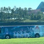 Bibbidi Bobbidi Bus! New Cinderella Bus Wrap Has Appeared in Disney World!