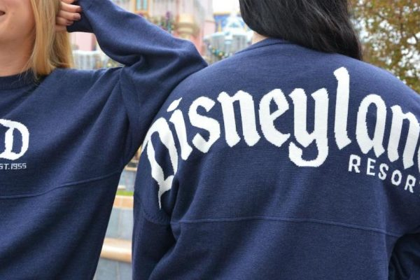 Jack Frost Nipping at Your Nose? The NEW Spirit Jersey Sweater Will Keep You Warm in Disneyland!