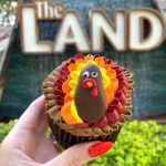 You're Going To Gobble Up This Limited Time Turkey Cupcake in Epcot
