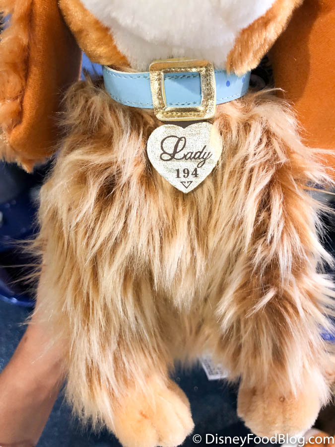 The New Lady And The Tramp Plush Are Pawsitively Adorable In Disney World The Disney Food Blog