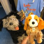 The NEW Lady and the Tramp Plush Are Pawsitively Adorable in Disney World!
