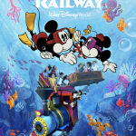 Hold Your Breath, Disney World! There's a New Mickey & Minnie's Runaway Railway Poster!