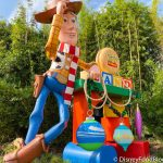 Woody and Friends Have Decked the Halls With Holiday Decorations at Toy Story Land in Disney's Hollywood Studios!