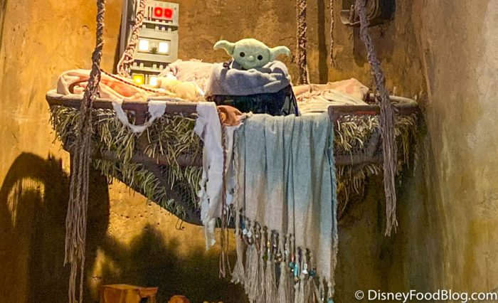Wait – Did We Just Spot Baby Yoda in Disney World?!