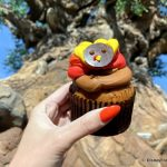 REVIEW: Get Ready to Stuff Your Face with the NEW Thanksgiving Cupcake in Disney's Animal Kingdom!
