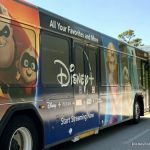 SPOTTED: The Disney+ Bus Is Virtually One of the COOLEST Buses in Disney World!