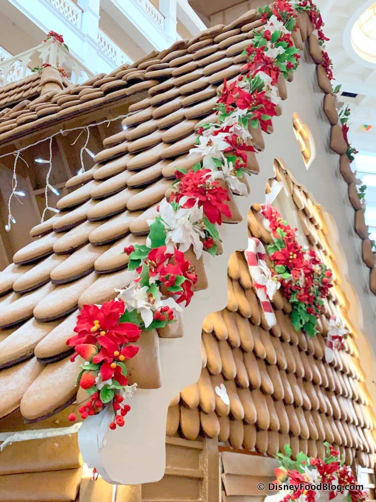 grand floridian gingerbread house 2020