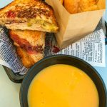 This Sandwich and Soup in Disneyland is Like a Thanksgiving Explosion in Your Mouth!