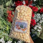 REVIEW! NEW Peppermint Caramel Popcorn Makes Its Minty Debut in Disneyland!