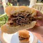 REVIEW: Savory Trumps Sweet With Holiday French Dip From Refreshment Corner in Disneyland!