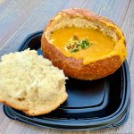 REVIEW and PHOTOS: Pumpkin Season Continues with New Pumpkin Soup at Disneyland Resort's Festival of Holidays!