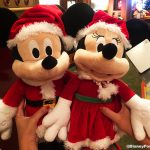 CUTE! New Mickey and Minnie Claus Are Ready to Help You Deck The Halls in Disney World!