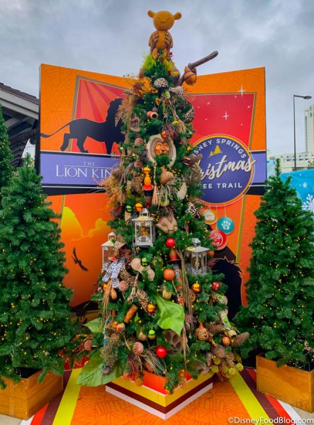 Photos The Disney Springs Christmas Tree Trail Is Open And It S Got Food Come Tour With Us The Disney Food Blog