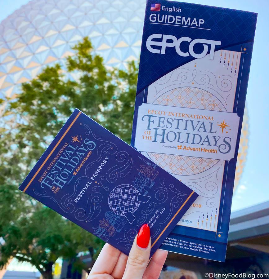 Epcot Christmas Festival 2020 Epcot International Festival of the Holidays | the disney food blog