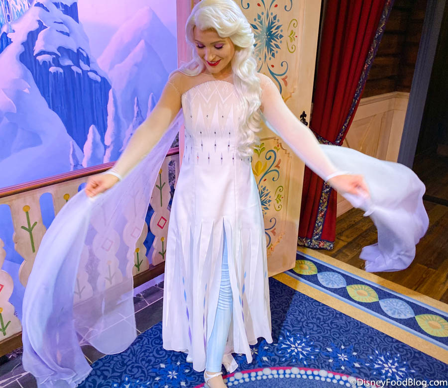 SPOILER ALERT! Wanna See Anna and Elsa\u0027s NEWEST Costumes in