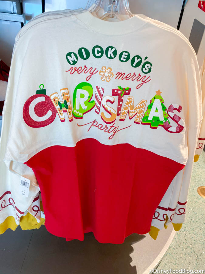 Mickeys Very Merry Christmas Party 2020 Shirt FIRST LOOK at the Merch from the 2019 Mickey's Very Merry