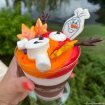 "REVIEW: The Olaf Hot Chocolate ""Cake"" Debuts in Disney World! (And It's PERFECT for Marshmallow Fans!)"
