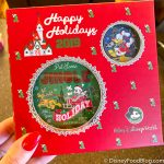 Ring in the Holidays With This Merry Passholder-Exclusive Ornament and Pin Set in Disney World!