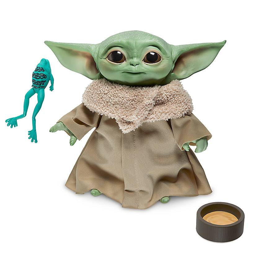 A Talking Baby Yoda Doll?!? More Baby Yoda Mandalorian