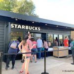 Welcome, World Travelers! Take a Closer Look at Epcot's New Temporary Starbucks Location!