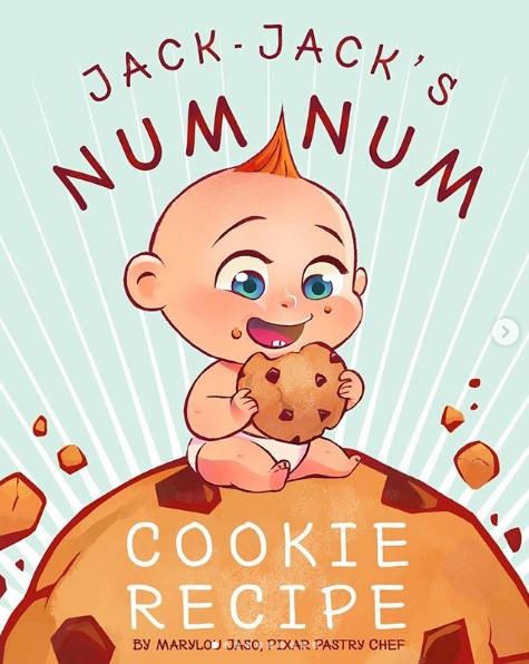 Want To Make Disney S Jack Jack Num Num Cookies At Home We Ve Got The Adorable Recipe The Disney Food Blog