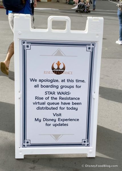 News: Disney World's Rise of the Resistance Reportedly Won't Use Boarding Groups At Reopening