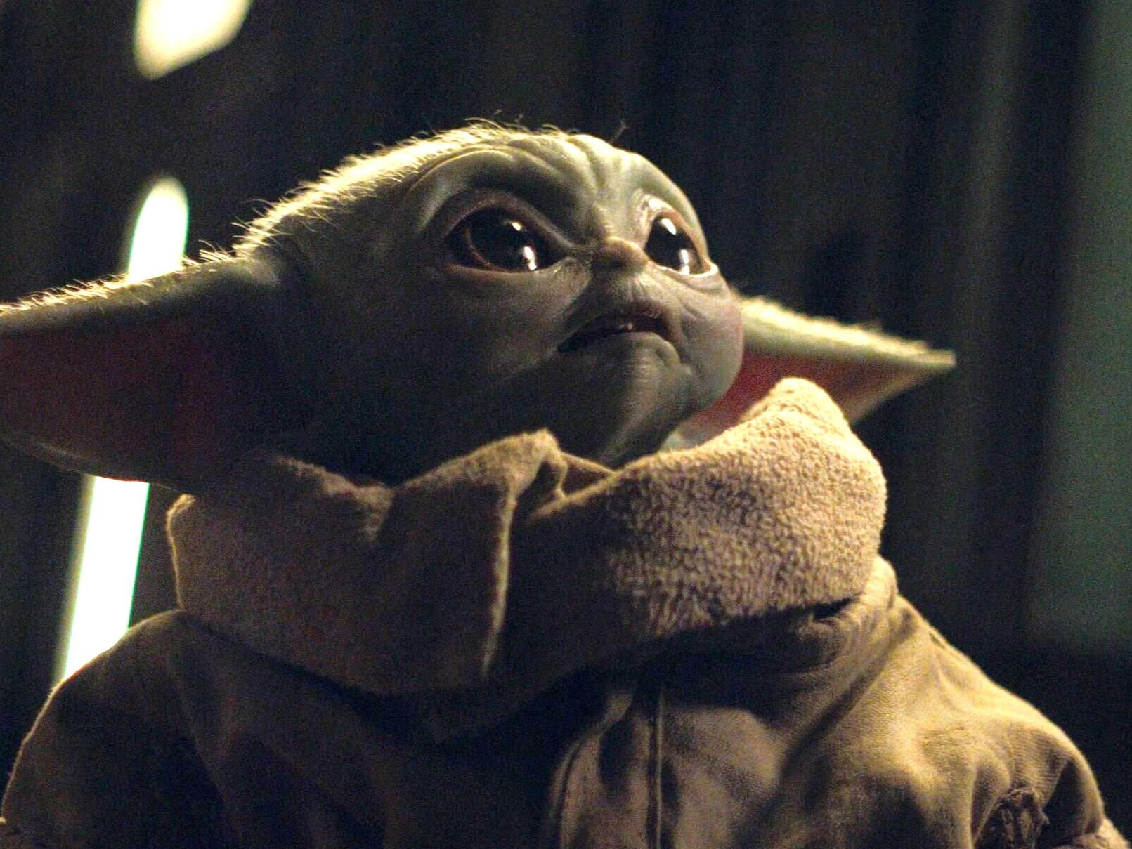 George Lucas' Picture With Baby Yoda Goes Viral