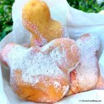 REVIEW! Candy Cane Beignets ARE BACK at Disneyland!